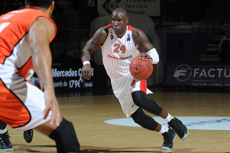 Mickael Pietrus - SLUC Nancy - EC15 (photo SLUC Nancy - C2images)