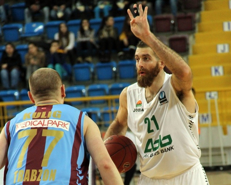 Kostas Kaimakoglou - Unics Kazan - EC15 (photo Trabzonspor)