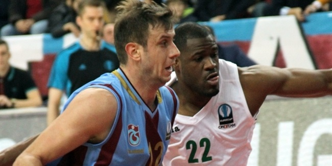 Regular Season, Round 10: Trabzonspor Medical Park vs. Unics Kazan