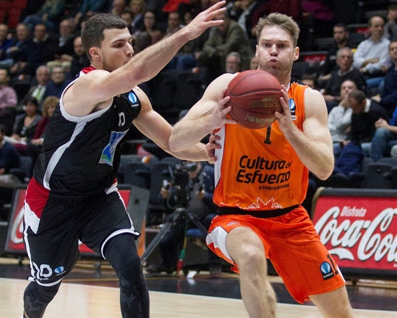 Jon Stefansson - Valencia Basket - EC15 (photo Valencia - Miguel Angel Polo)