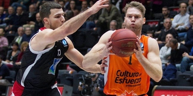 Regular Season, Round 10: Valencia Basket vs. Proximus Spirou Charleroi