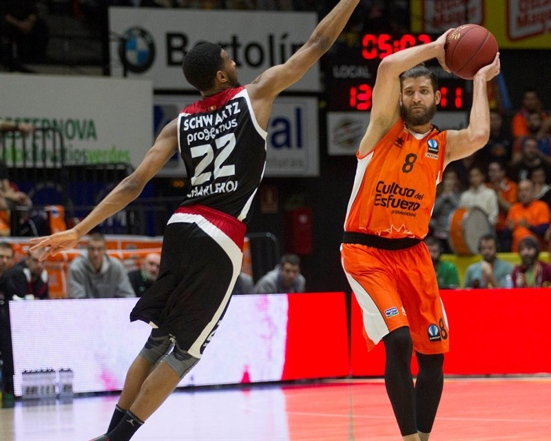 Antoine Diot - Valencia Basket - EC15 (photo Valencia - Miguel Angel Polo)