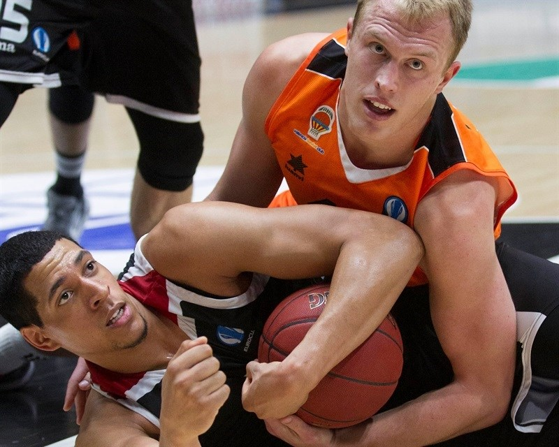 Luke Sikma - Valencia Basket - EC15 (photo Valencia - Miguel Angel Polo)