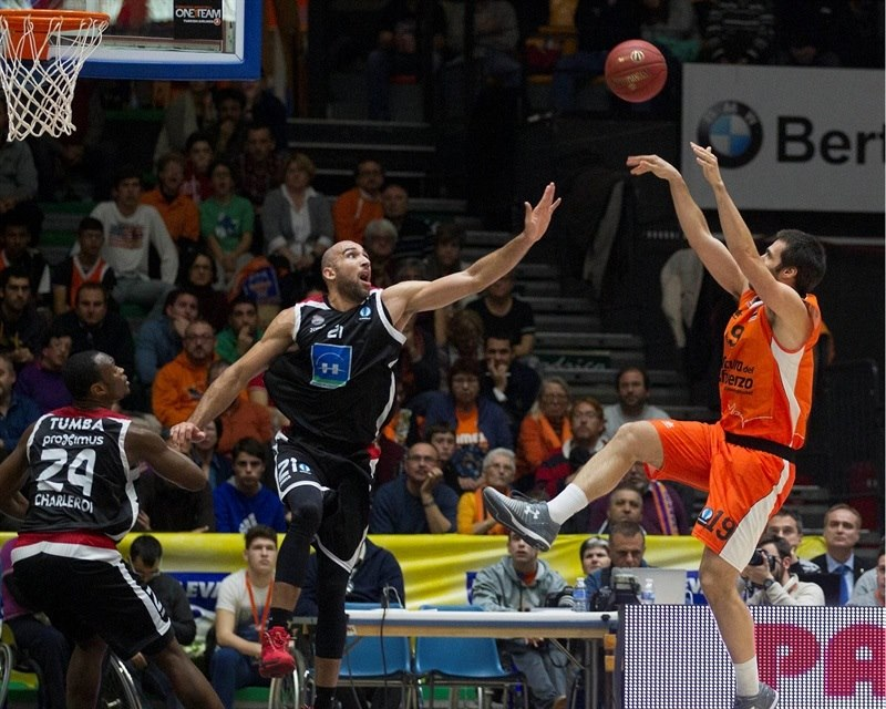 Fernando San Emeterio - Valencia Basket - EC15 (photo Valencia - Miguel Angel Polo)