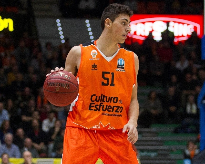 Josep Puerto - Valencia Basket - EC15 (photo Valencia - Miguel Angel Polo)