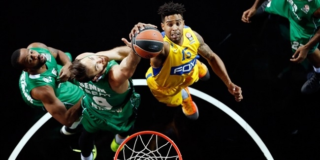 RS Round 10 report: Darussafaka celebrates Top 16 berth despite losing to Maccabi
