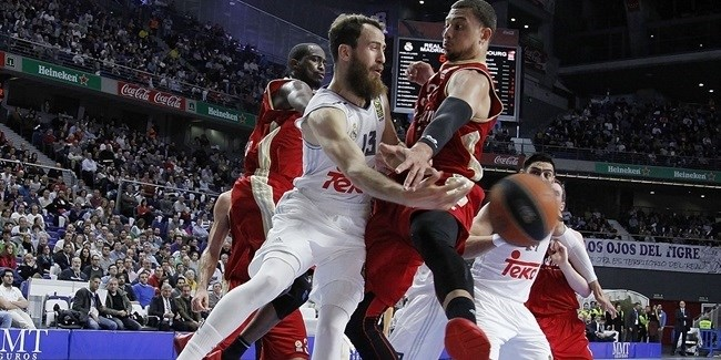 Regular Season, Round 10: Real Madrid vs. Strasbourg