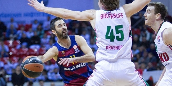 Regular Season, Round 10: Lokomotiv Kuban vs. FC Barcelona Lassa