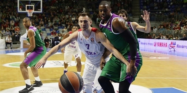 Regular Season, Round 10: Unicaja Malaga vs. CSKA Moscow
