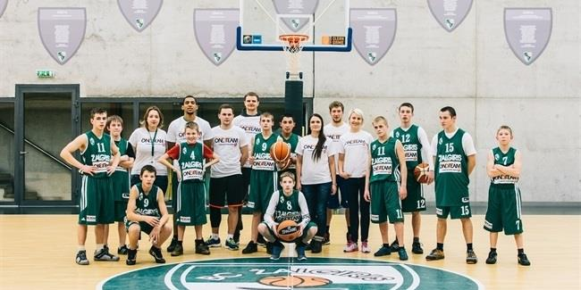 Zalgiris helps youths live dream with One Team Ambassadors