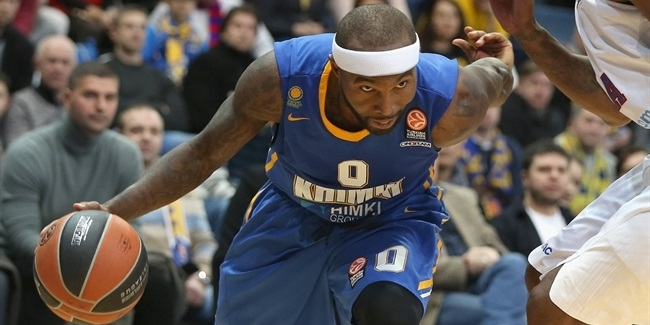Top 16, Round 5 MVP: Tyrese Rice, Khimki Moscow Region