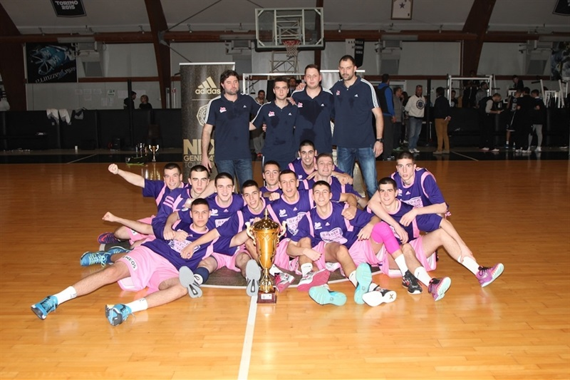U18 Mega Leks Belgrade Champ Rome 2015 - JT15 (photo Lello Vitale)