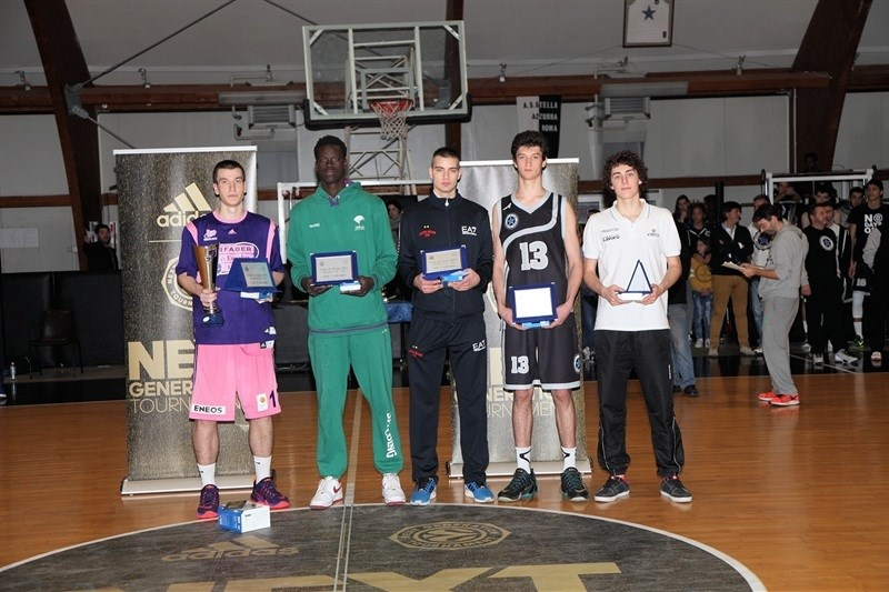 all-tournament team Rome 2015 - JT15 (photo Lello Vitale)