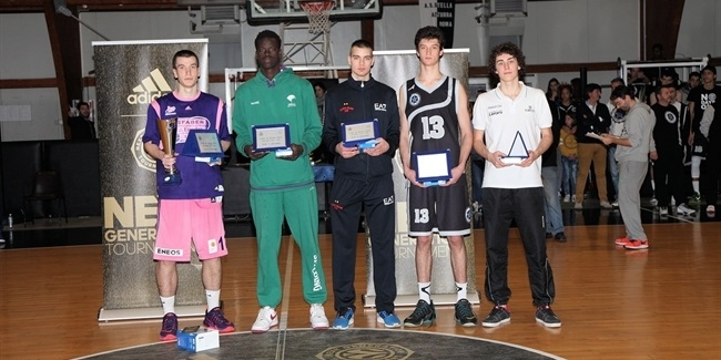 MVP Aranitovic heads all-tourney team
