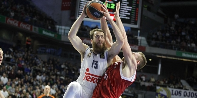 Top 16, Round 1: Real Madrid vs. Brose Baskets Bamberg