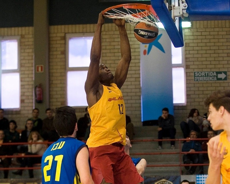 Atoumane Diagne - U18 FC Barcelona Lassa - JT15 (photo Paco Largo)