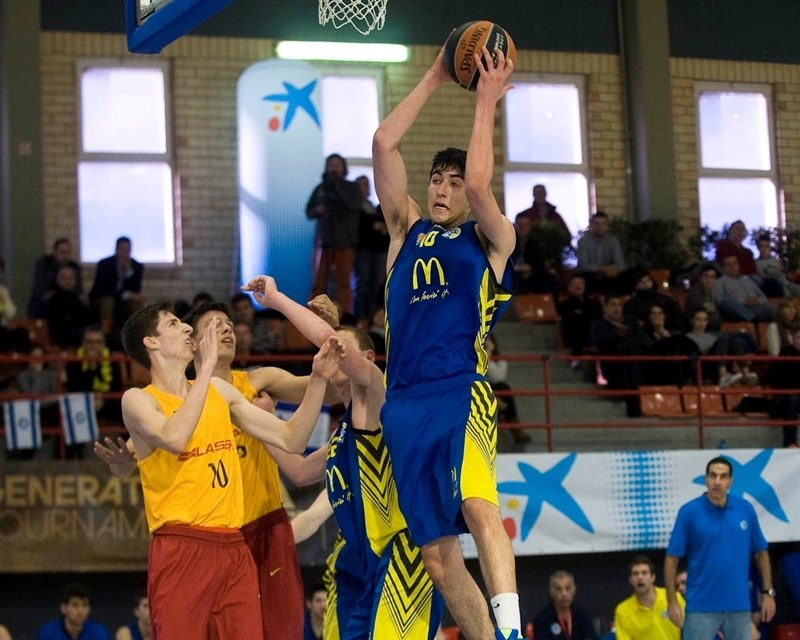 Yovel Zoosman - U18 Maccabi Teddy Tel Aviv - JT15 (photo Paco Largo)