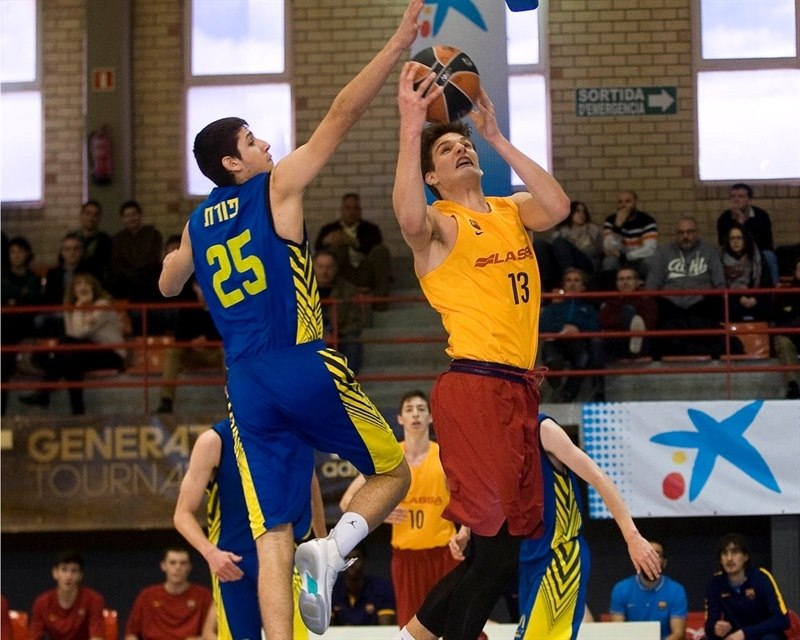 Sergi Martinez - U18 FC Barcelona Lassa - JT15 (photo Paco Largo)