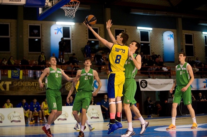 Ido Flaisher - U18 Maccabi Teddy Tel Aviv - JT15 (photo Paco Largo)