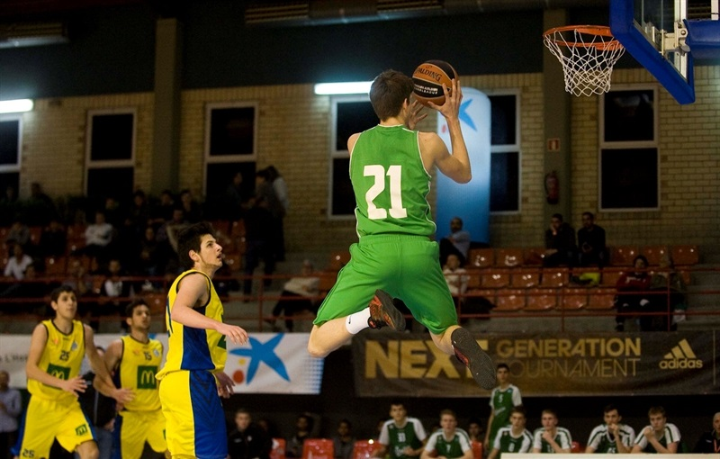 Gaber Ozegovic - U18 Union Olimpija Ljubljana - JT15 (photo Paco Largo)