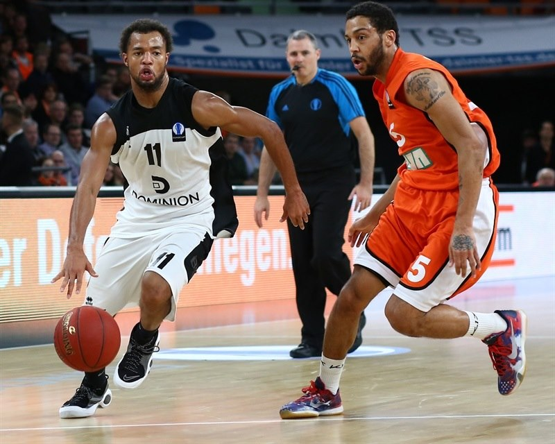 Clevin Hannah - Dominion Bilbao Basket - EC15 (photo Florian Achberger - Ratiopharm Ulm)