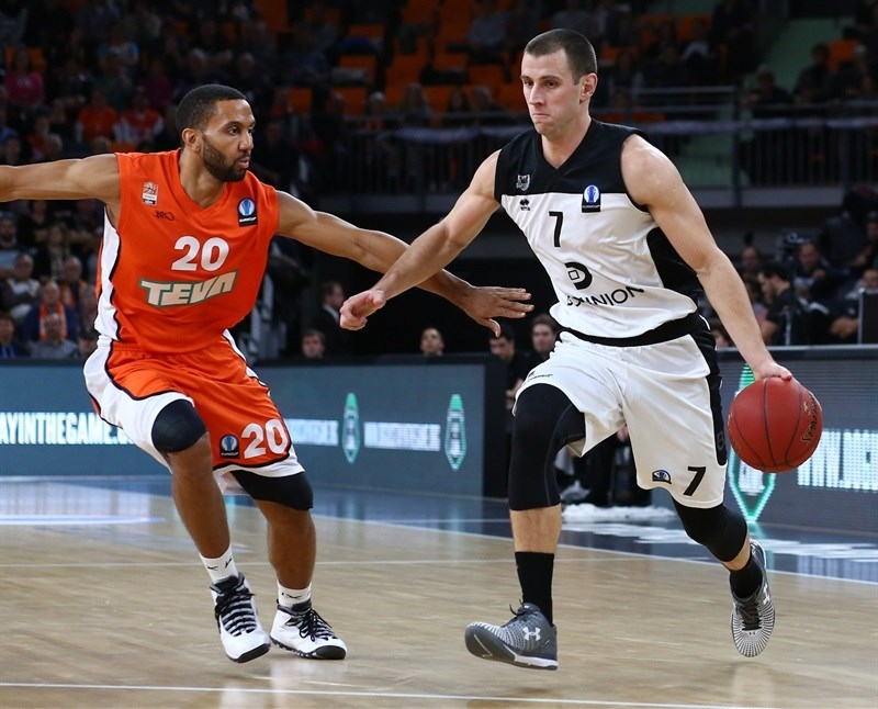 Alex Ruoff - Dominion Bilbao Basket - EC15 (photo Florian Achberger - Ratiopharm Ulm)
