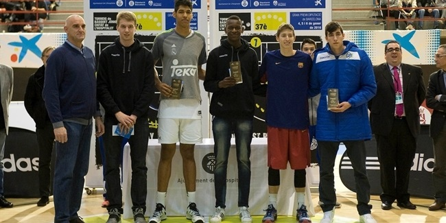 U18 Real Madrid's Dos Anjos is ANGT L'Hospitalet MVP!