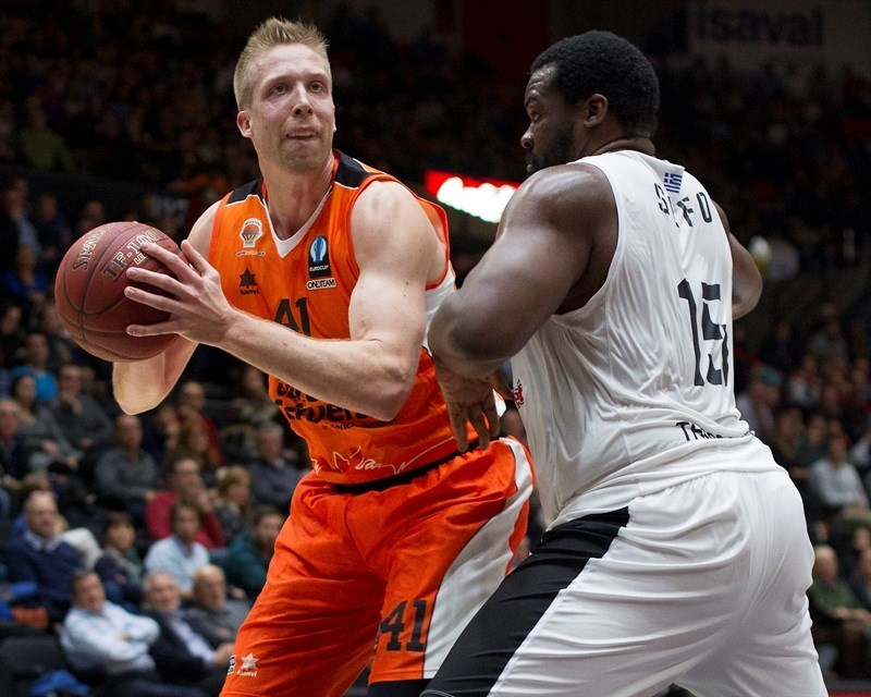 Justin Hamilton - Valencia Basket - EC15 (photo Valencia - Miguel Angel Polo)