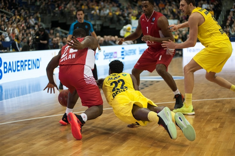 Will Cherry - ALBA Berlin vs. EA7 Milan (photo Patrick Albertini)