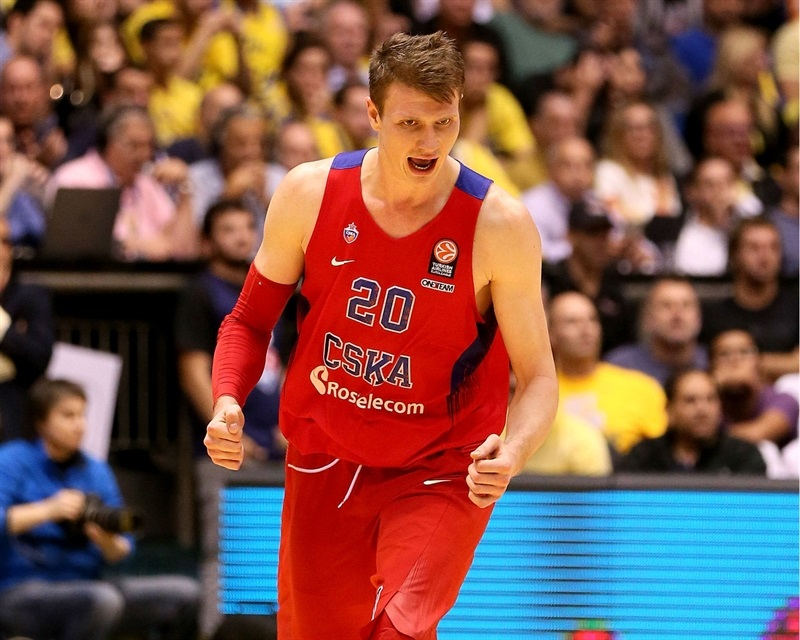 Andrey Vorontsevich - CSKA Moscow - EB15