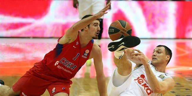 Top 16, Round 2: CSKA Moscow vs. Real Madrid
