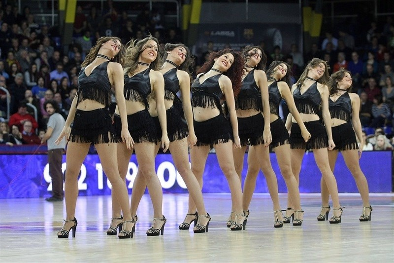 Cheerleaders - FC Barcelona Lassa - EB15