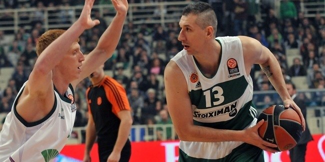 Top 16, Round 2: Panathinaikos Athens vs. Unicaja Malaga