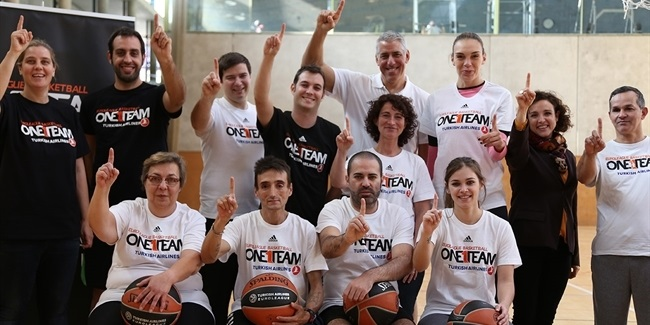 Arlauckas aids Euroleague Basketball, ABD in finishing successful One Team project