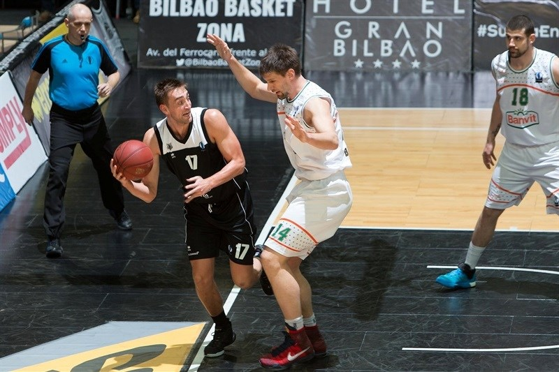 Axel Hervelle - Dominion Bilbao Basket - EC15 (photo Bilbao Basket - Aitor Arrizabalaga)