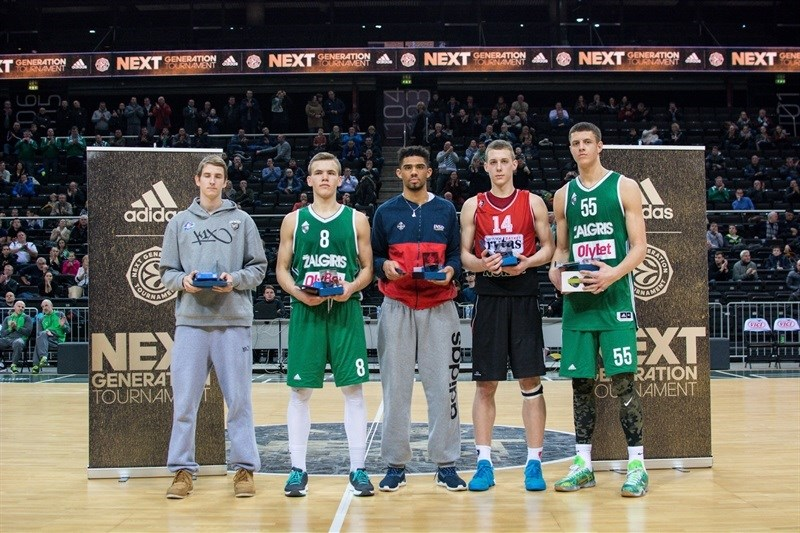 All Tournamet Team - ANGT Kaunas 2016 - JT15