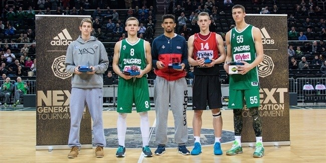 Hartenstein earns ANGT Kaunas MVP honors
