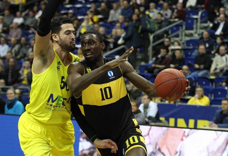 Okaro White - Aris Thessaloniki - EC15 (photo ALBA Berlin - Camera4)