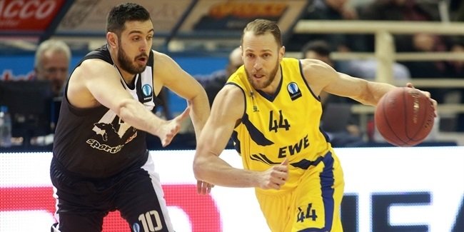 Last 32, Round 3: PAOK Thessaloniki vs. EWE Baskets Oldenburg