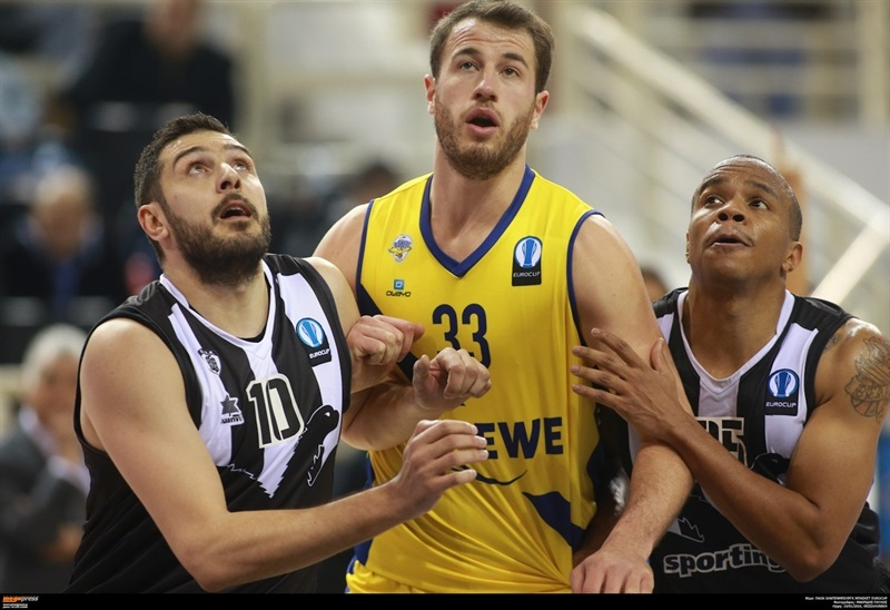 Philipp Schwethelm - EWE Baskets Oldenburg - EC15 (photo PAOK - megapress - pavlosmakridis)