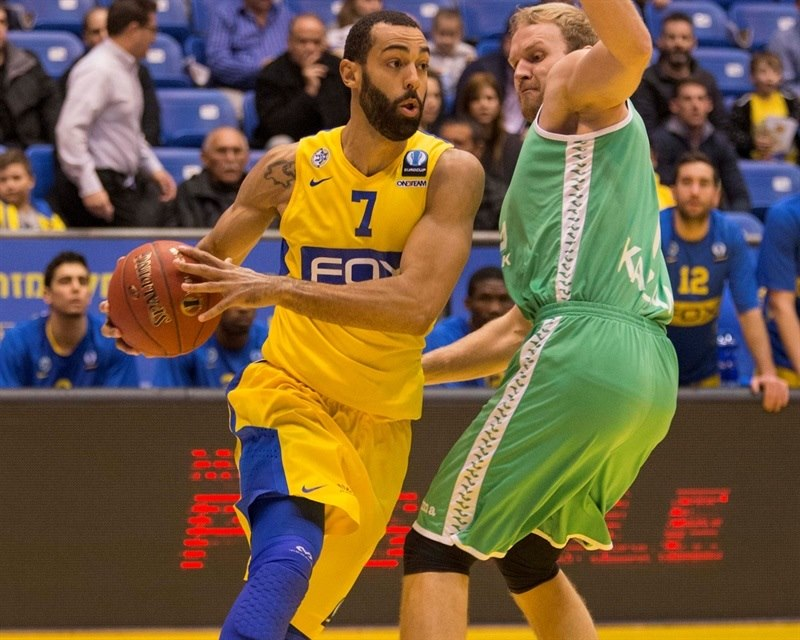 Brian Randle - Maccabi FOX Tel Aviv - EC15 (photo Maccabi)