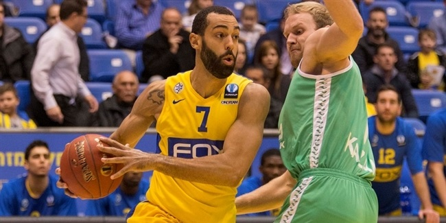 Maccabi's Randle could miss rest of Last 32