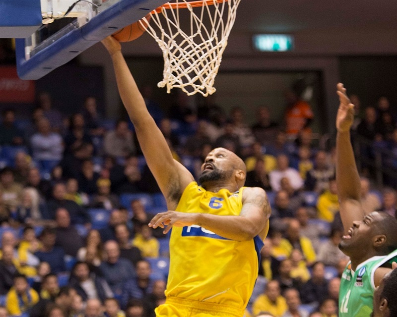 Devin Smith - Maccabi FOX Tel Aviv - EC15 (photo Maccabi)