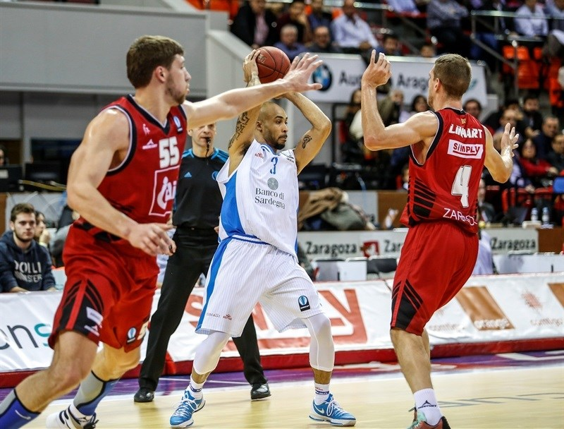David Logan - Dinamo Banco di Sardegna Sassari - EC15 (photo CAI Zaragoza - Esther Casas)