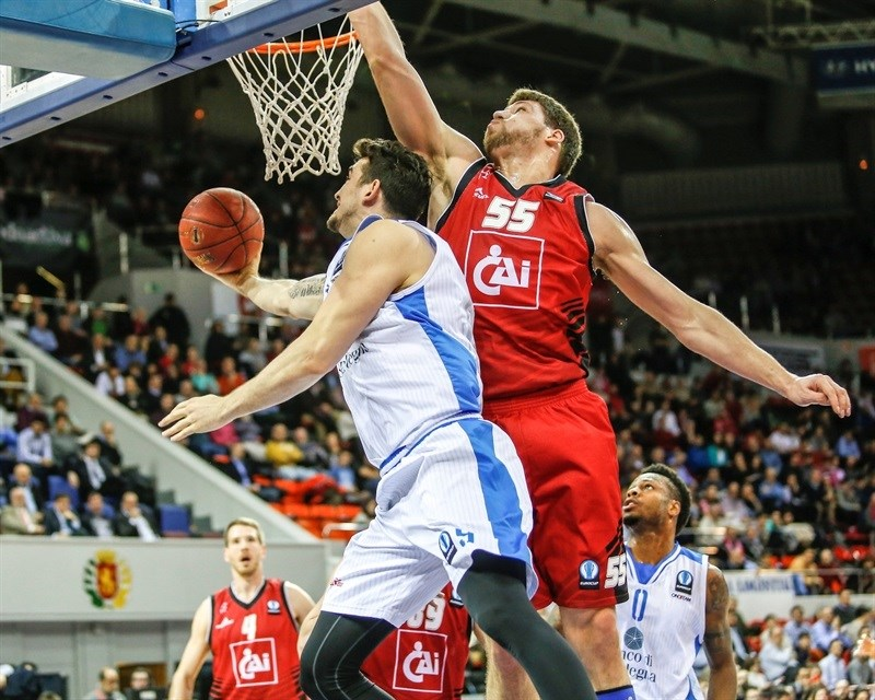 Joe Alexander - Dinamo Banco di Sardegna Sassari - EC15 (photo CAI Zaragoza - Esther Casas)
