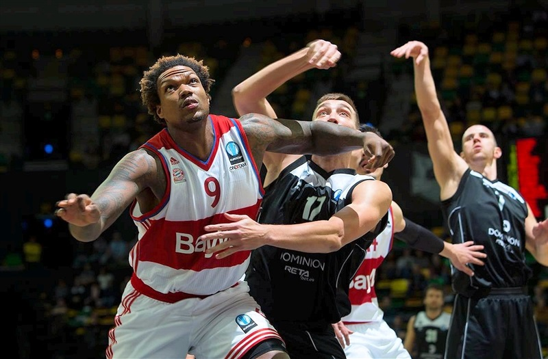Deon Thompson - FC Bayern Munich - EC15 (photo Bilbao Basket - Aitor Arrizabalaga)