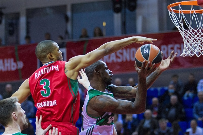 Anthony Randolph and James Gist - Lokomotiv Kuban vs. Panathinaikos Athens - EB15