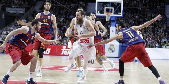 Top 16, Round 4: Real Madrid vs. FC Barcelona Lassa