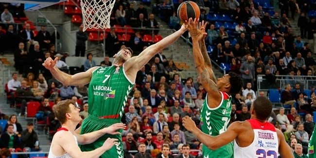 Top 16, Round 4 report: Bourousis, Causeur led Laboral Kutxa over CSKA