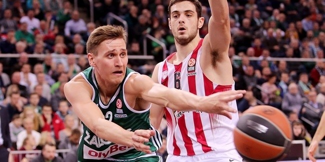 Top 16, Round 4 report: Zalgiris stuns Olympiacos, 75-55, for first win under Saras